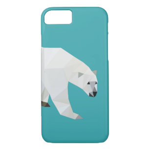 Capa iPhone 8/ 7 Caso do iPhone 7 do urso polar