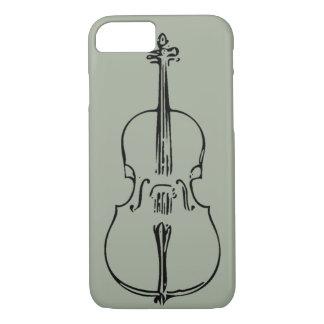 Capa iPhone 8/ 7 Caso do iPhone 7 do violoncelo