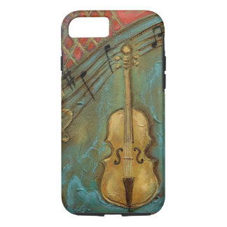 Capa iPhone 8/ 7 Caso do iPhone 7 do violoncelo de Mello,
