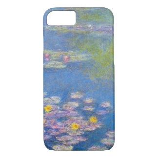 Capa iPhone 8/ 7 Caso do iPhone 7 dos lírios de água amarela de
