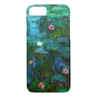 Capa iPhone 8/ 7 Caso do iPhone 7 dos lírios de água de Monet