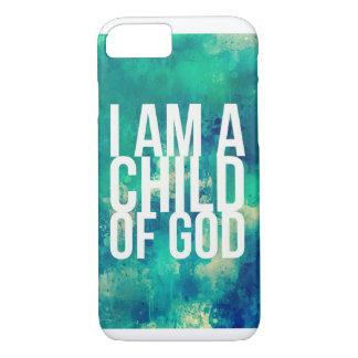 Capa iPhone 8/ 7 caso do iPhone 7 para cristãos: Eu sou uma criança