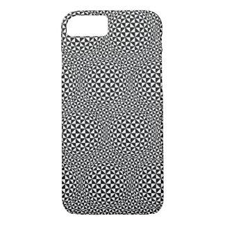 Capa iPhone 8/ 7 caso do iPhone 7 - preto/branco da ilusão óptica