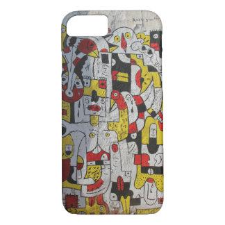 Capa iPhone 8/ 7 caso do iphone 7 que caracteriza a arte da rua de