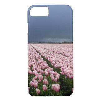 Capa iPhone 8/ 7 caso do iPhone 8 - campo das tulipas