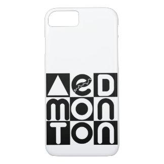 Capa iPhone 8/ 7 Caso do quebra-cabeça de Edmonton do iPhone de