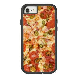 Capa iPhone 8/ 7 Caso do telemóvel da pizza de Pepperoni