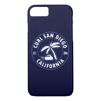 Capa iPhone 8/ 7 Caso do telemóvel de San Diego da onda