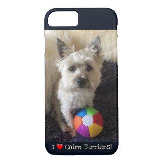 Capa iPhone 8/ 7 Caso do telemóvel de Terrier de monte de pedras