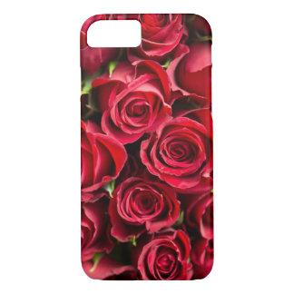 Capa iPhone 8/ 7 Caso do telemóvel do Fim-Acima da colagem da rosa