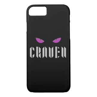 Capa iPhone 8/ 7 Caso do telemóvel do logotipo de Craven