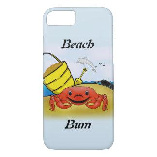 Capa iPhone 8/ 7 Caso do telemóvel do vagabundo da praia