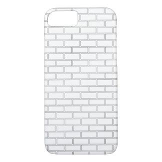 Capa iPhone 8/ 7 Caso do teste padrão do tijolo