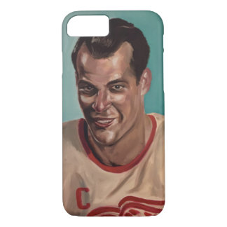 Capa iPhone 8/ 7 Caso do tributo de Gordie Howe