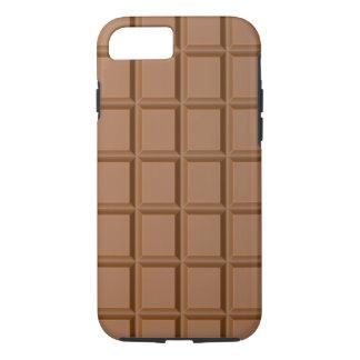 Capa iPhone 8/ 7 Caso engraçado do iPhone 7 do chocolate mal lá