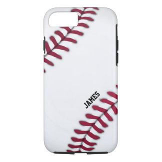 Capa iPhone 8/ 7 Caso feito sob encomenda do iPhone 7 do basebol