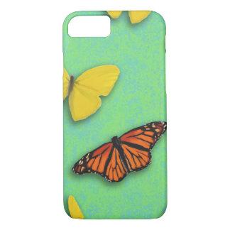Capa iPhone 8/ 7 Caso feliz de IPhone 7 da borboleta