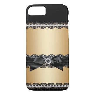 Capa iPhone 8/ 7 Caso feminino do brilho do jewell