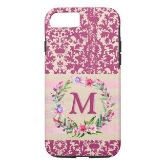 Capa iPhone 8/ 7 Caso floral corajosamente romântico de Iphone 7 do