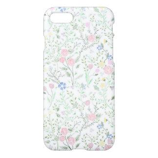 Capa iPhone 8/7 Caso floral de IPhone 7