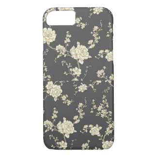 Capa iPhone 8/ 7 Caso floral do iPhone 7 do vintage