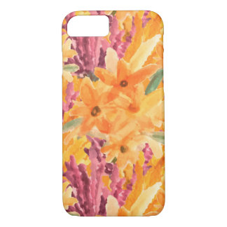 Capa iPhone 8/ 7 Caso floral tropical
