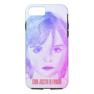 Capa iPhone 8/ 7 caso iPhone7 (Cara Jocelyn Delevingne)