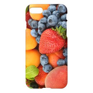 Capa iPhone 8/7 caso iPhone7 com frutos frescos e saudáveis