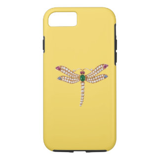 Capa iPhone 8/ 7 Caso Jeweled do iPhone 7 da libélula