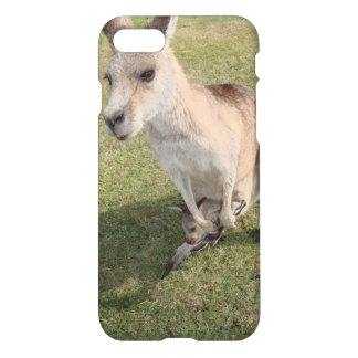 Capa iPhone 8/7 Caso lustroso do iPhone 7 do canguru