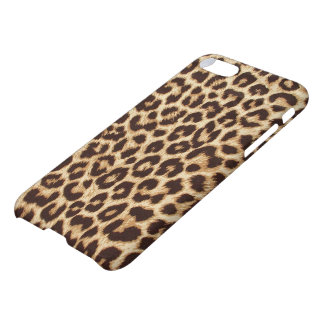Capa iPhone 8/7 Caso lustroso do iPhone 7 do impressão do leopardo