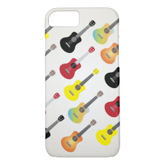 Capa iPhone 8/ 7 Caso musical do iPhone 7 do Ukulele moderno