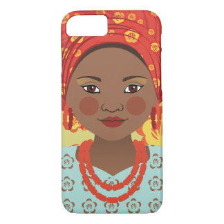 Capa iPhone 8/ 7 Caso nigeriano do sul de Matryoshka