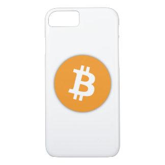 Capa iPhone 8/ 7 Caso oficial do iPhone 7 do símbolo de Bitcoin