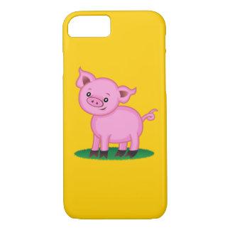 Capa iPhone 8/ 7 Caso pequeno bonito do iPhone 7 do porco