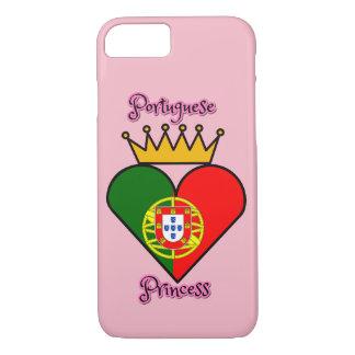 Capa iPhone 8/ 7 Caso português do iPhone 7 da princesa