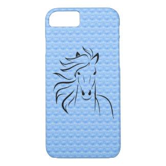Capa iPhone 8/ 7 Caso positivo do iPhone 6 do fundo do cavalo
