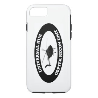Capa iPhone 8/ 7 Caso Recon da unidade do helicóptero universal do