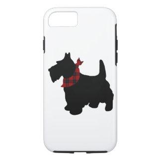 Capa iPhone 8/ 7 Caso resistente de Iphone 7 do cão do Scottie
