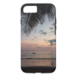 Capa iPhone 8/ 7 Caso resistente do iPhone 7 da palma e da praia