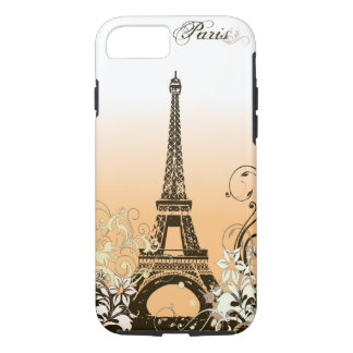Capa iPhone 8/ 7 Caso resistente do iPhone 7 de Paris da torre