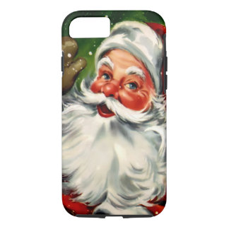 Capa iPhone 8/ 7 Caso resistente do iPhone 7 do papai noel