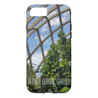 Capa iPhone 8/ 7 Caso resistente do ipphone do jardim botânico de