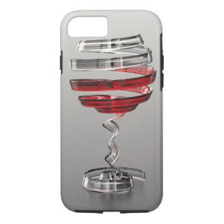 Capa iPhone 8/ 7 Caso resistente estranho do iPhone 7 do vidro de