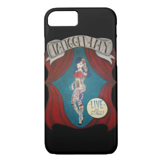 Capa iPhone 8/ 7 Caso Tattooed do iPhone 7 da senhora Circo