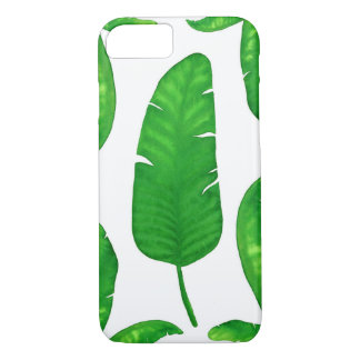 Capa iPhone 8/ 7 Caso tropical do iPhone 7 das folhas de palmeira