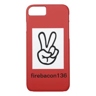 Capa iPhone 8/ 7 casos do firebacon