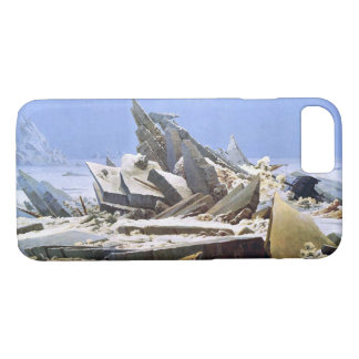 Capa iPhone 8/ 7 CASPAR DAVID FRIEDRICH - o mar do gelo 1824
