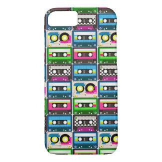 Capa iPhone 8/ 7 Cassetes de banda magnética retros
