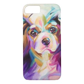 Capa iPhone 8/ 7 Cavalier coloridos do cobrir do telefone